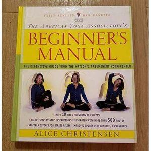 Yoga Beginner Manual Book American Association